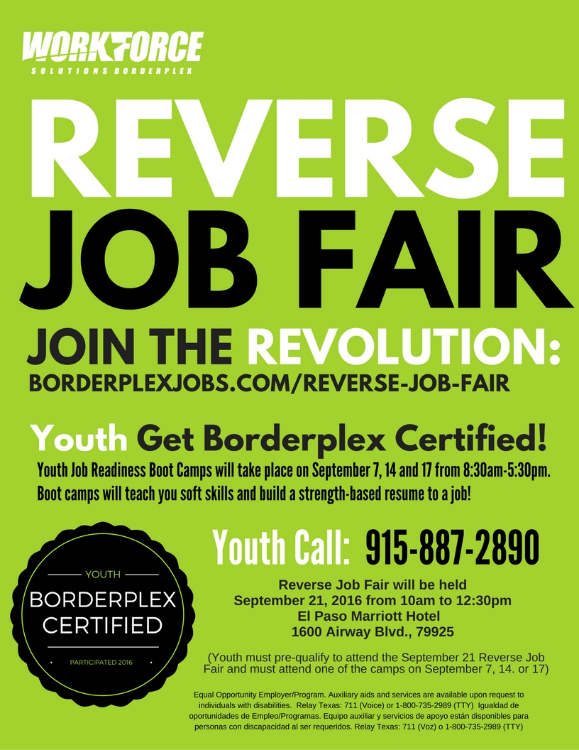 solutions for job seekers workforce solutions borderplex reverse